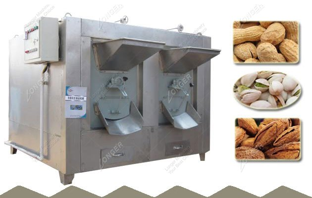 Drm Nuts Roaster India|Pistachios Roasting Machine For Sale