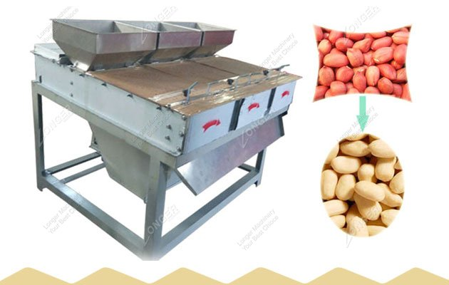 Large Capacity Dry Type Peanut Peeling Equipment for Sale