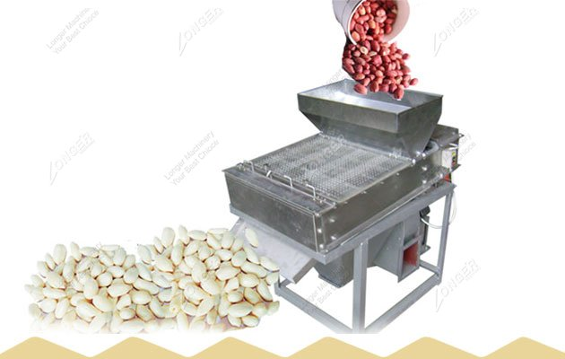 Industrial Roasted Peanut Red Skin Removing Machine Supplier