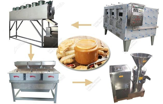 Choose Automatic Peanut Butter Making Line