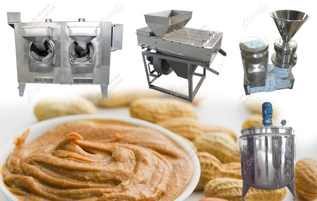 Peanut Butter Production Line Process
