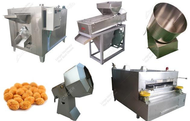 Honey and Flour Coated Peanut Production Line Manufacturer