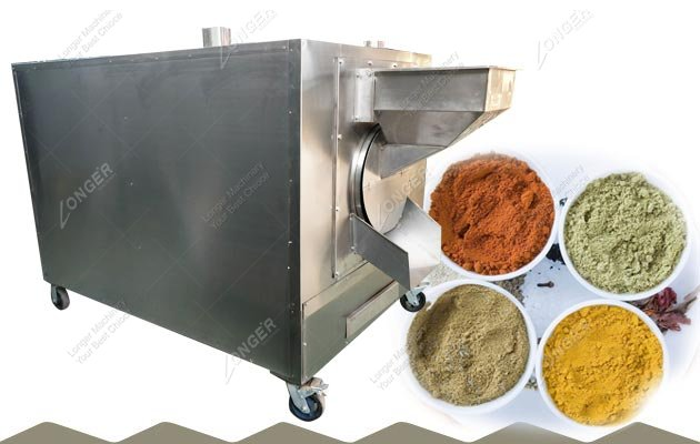 Commercial Spice Roaster|Masala Roasting Machine
