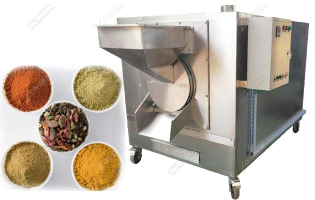 Spice Drum Roaster Machine