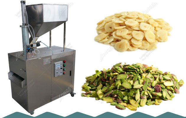 Pistachio Slicing Machine|Macadamia Hazelnut Kernel Slice Cutting Equipment