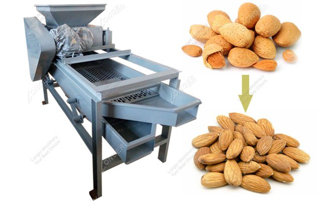 nuts shell cracker machine