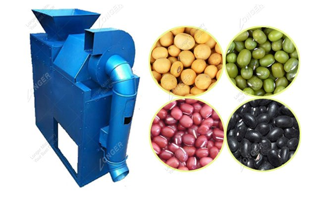 Dry Mung Beans Peeling Machine for Sale