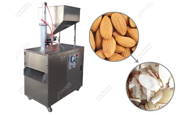 Almond Slice Cutting Machine