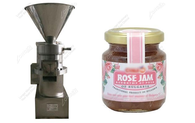 Rose Jam Grinder Machine
