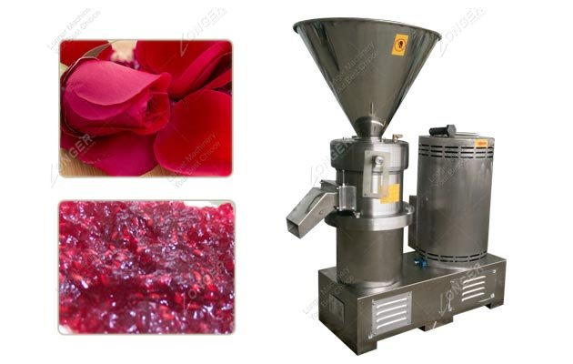 Rose Pelt Jam Grinder Machine